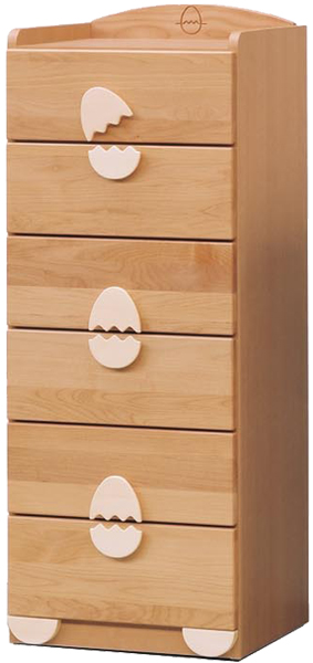チェスト タンス ハイチェスト 幅45cm 子供部屋 子供家具 キッズ家具 完成品 木製 送料無料