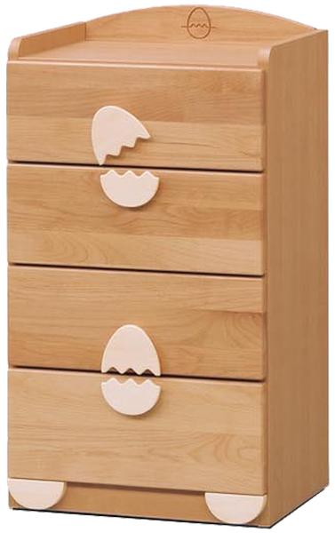 チェスト タンス ローチェスト 幅45cm 子供部屋 子供家具 キッズ家具 完成品 木製 送料無料