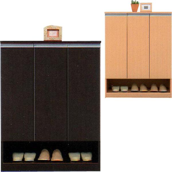 シューズボックス 下駄箱 靴箱 幅90cm 高さ120cm ロータイプ シンプル 北欧 モダン おしゃれ 木製 2色対応 完成品 送料無料