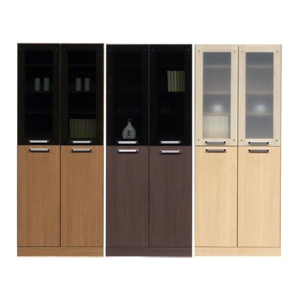 食器棚 キッチンボード ダイニングボード 幅75cm 75cm 75 キッチン収納 ハイタイプ シンプル モダン 北欧 3色対応 木製 完成品 送料無料