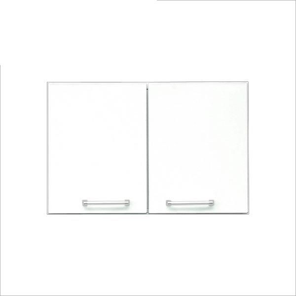 上置き 幅60cm 60幅 60cm 食器棚 キッチン収納 鏡面仕上げ ホワイト 白 シンプル 木製 送料無料 大容量 国産 北欧 日本製 安心と信頼 完成品 クリスタルシリーズ 迅速な対応で商品をお届け致します おしゃれ