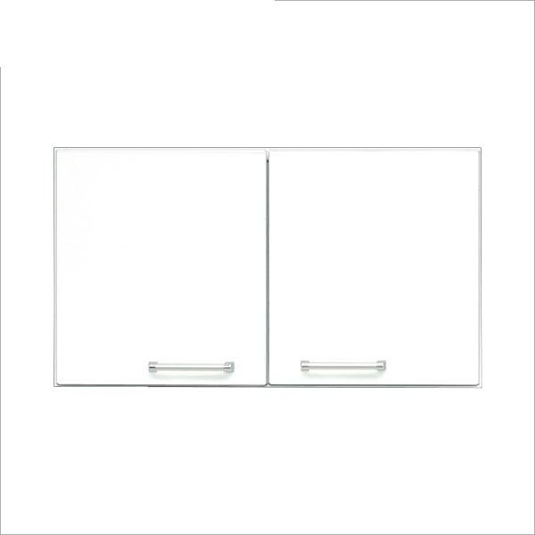 上置き 幅70cm 食器棚 キッチン収納 白 ホワイト 鏡面仕上げ シンプル 北欧 おしゃれ 木製 日本製 完成品 送料無料 【クリスタルシリーズ】