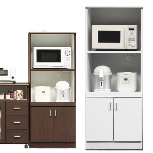 レンジ台 レンジボード 食器棚 60幅 60 高さ148cm 完成品 キッチン収納 シンプル ナチュラル モダン 北欧 日本製 国産 家具送料無料