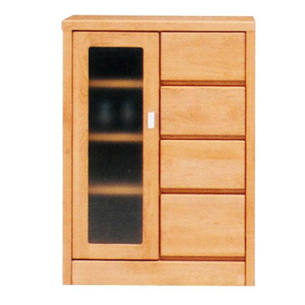 サイドボード 幅60cm 60cm リビングボード リビング収納 キッチン収納 シンプル モダン 木製 2色対応 完成品 日本製 送料無料