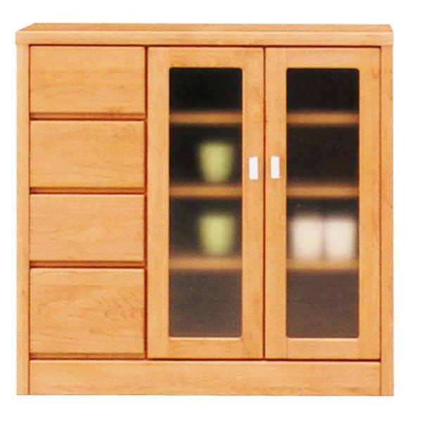 サイドボード 幅90cm 90cm リビングボード リビング収納 キッチン収納 シンプル モダン 木製 2色対応 完成品 日本製 送料無料