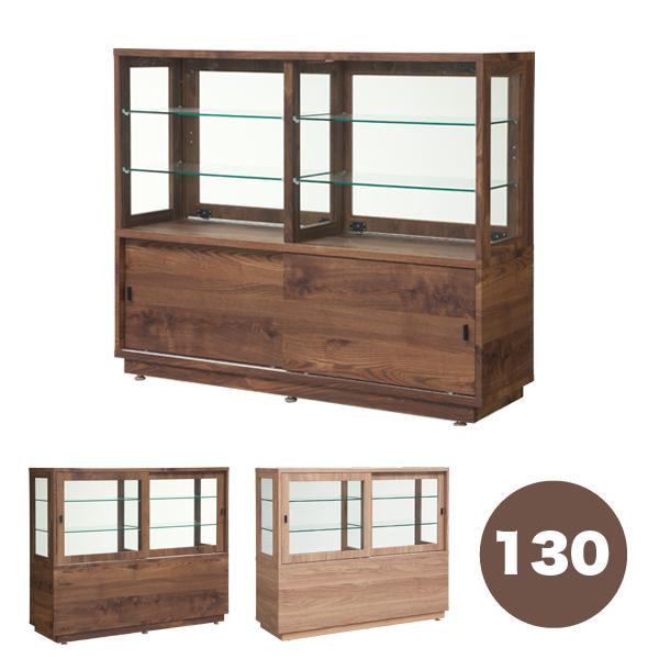 コレクションボード 木製 おもちゃ 幅130 全3段 壁面収納 キャスター付き ボックス ナチュラル 北欧 デザイナーズ 輸入品 送料無料