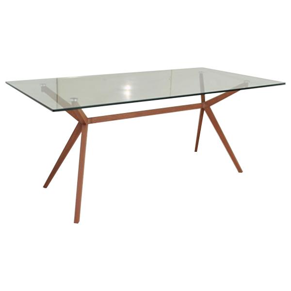 ガラステーブル ダイニングテーブル テーブル ガラス 幅140cm 140x80 リビング キッチン シンプル スタイリッシュ ナチュラル モダン 北欧 家具送料無料