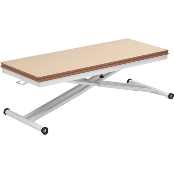 テーブル 昇降式 無段階高さ調節可能 折りたたみ 幅110cm 110テーブル 110×55~110 長方形 正方形 リビングテーブル センターテーブル リフティングテーブル リフトテーブル 省スペース 木製 完成品 送料無料