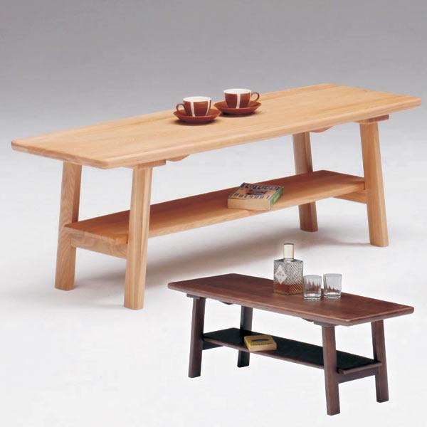 テーブル リビングテーブル センターテーブル 座卓 幅110cm 木製 長方形 中棚付き シンプル モダン 送料無料
