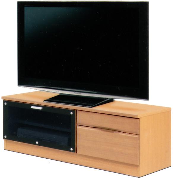 テレビ台 TVボード ローボード 幅108cm AV収納 オーディオ収納 シンプル モダン 2色対応 木製 日本製 完成品 送料無料