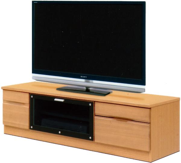 テレビ台 TVボード ローボード 幅138cm AV収納 オーディオ収納 シンプル モダン 2色対応 木製 日本製 完成品 送料無料