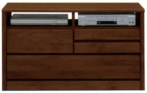 テレビ台 テレビボード テレビチェスト 幅105cm 木製 2色対応 日本製 完成品 送料無料