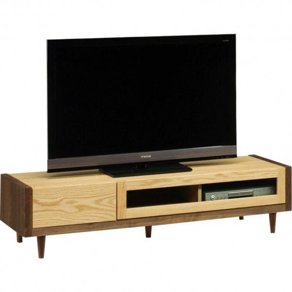 テレビ台 テレビボード ローボード 幅150cm 脚付き シンプル モダン 北欧 ナチュラル 木製 無垢 日本製 完成品 送料無料