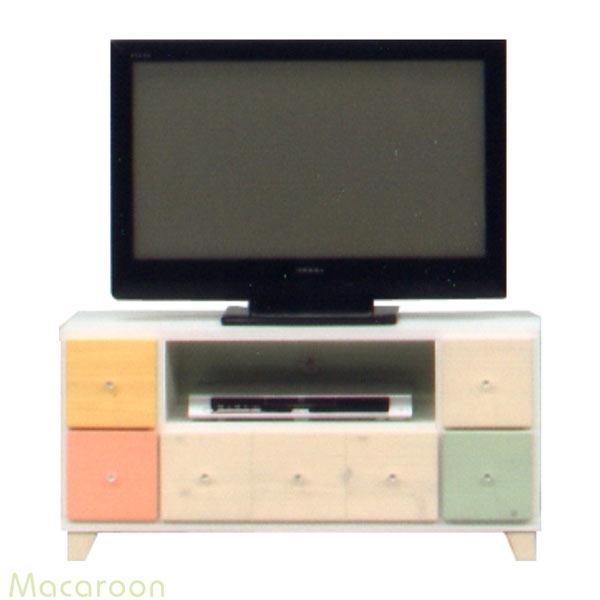 テレビ台 テレビボード ローボード 幅95cm 木製 パイン材 完成品 送料無料