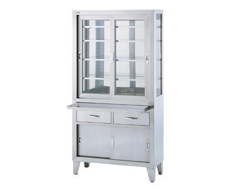 【代金引換不可】器械戸棚 SKN-90