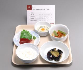 《坂本モデル》老人保健食模型 14種