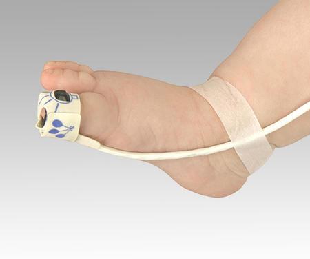 【代金引換不可】パルスオキシメーター[パームサット]用センサー幼児用フレックス(フレキシラップ×25枚付属) 8008J