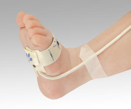 【代金引換不可】パルスオキシメーター[パームサット]用センサー新生児用フレックス(フレキシラップ×25枚付属)80001J
