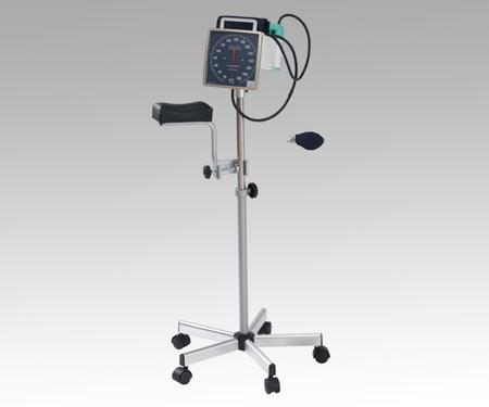 【代金引換不可】スタンド式アネロイド血圧計 [加圧ポンプ・上肢台付] No.542S