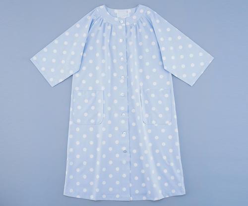 妊婦患者衣SRC361 ブルー
