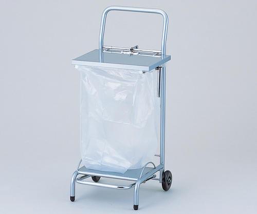 【代金引換不可】ゴミ袋スタンド(フタ付)NFG1シルバー