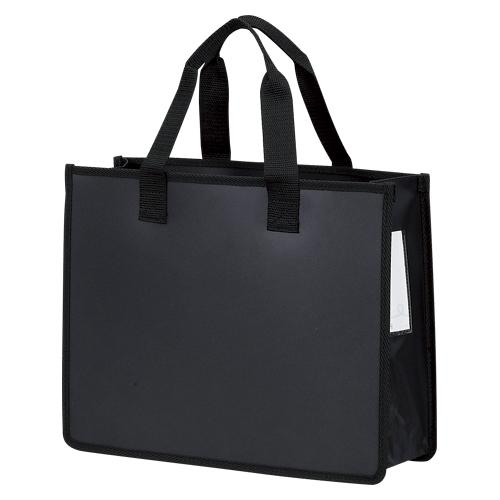 自立タイプのトートバッグ ノータム アウトレット☆送料無料 オフィス トートバッグJ 正規品 UNT-A4J#49 ブラック A4判