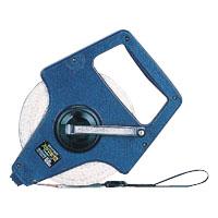 エスロン巻尺(リールケース) ガラス繊維製テープ ハヤマキ12 50m [12-50HRW]