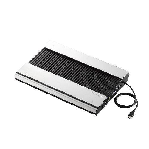 [ELECOM(エレコム)] USB3.0ハブ付きノートPC用クーラー 高耐久性×極冷 (15.4~17インチ対応) SX-CL24LBK