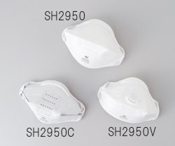 N95マスク SH2950C(活性炭入り)(個別包装タイプ)