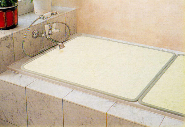 【板タイプ 組み合わせ風呂フタ】 プレステージ 幅68×長さ118cm (2枚割) M12