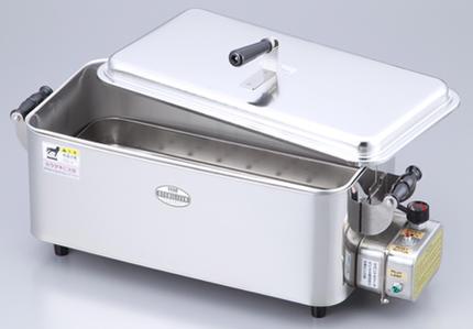 【代金引換不可】卓上煮沸消毒器AT-40 幅530×奥行215×高さ265mm