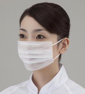 【ケース販売】サニエコマスク(2ply平面耳掛け) 100枚入り×30箱(3,000枚入り)