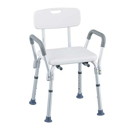 シャワー椅子(ひじ掛け付き)  NC355