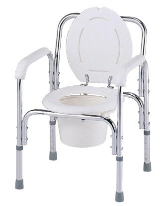 デラックスアルミ製便器椅子 8500