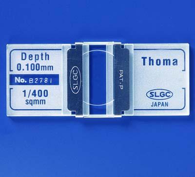【代金引換不可】血球計算盤((財)日本血液協会検定品) トーマ盤(JHS標準)