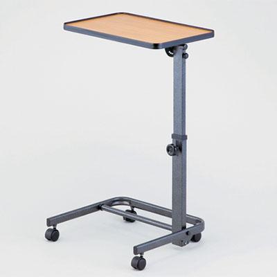 テーブル角度は7段階 フラットから前後90°まで 調節できます 車いす用 折りたたみテーブル 秀逸 即出荷
