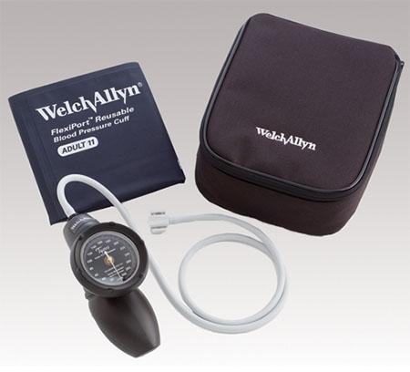 【代金引換不可】≪ウェルチ・アレン(Welch Allyn)≫アネロイド血圧計[デュラショック・ハンド型 DS58-11](成人用(中)カフ付き)