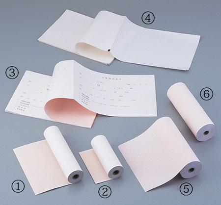 心電計用紙 FQW210-10-295(K) 1箱(5冊入)