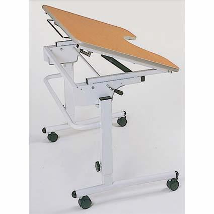 【代金引換不可】ライフケアテーブル傾斜機能付 TY506T