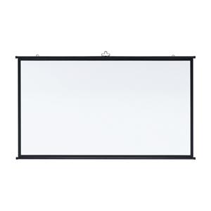 [サンワサプライ] プロジェクタースクリーン(壁掛け式・アスペクト比16:9・80型相当) PRS-KBHD80