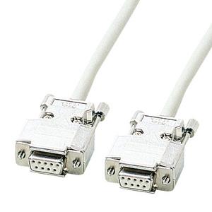 [サンワサプライ] RS-232Cケーブル (モデム・TA用・6m) KRS-433XF6N