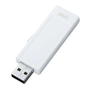 [サンワサプライ] USB2.0メモリ(16GB) UFD-RNS16GW