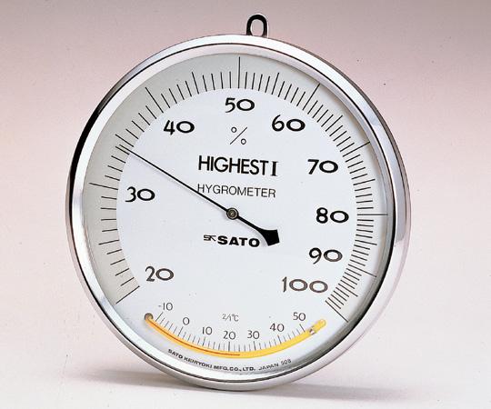 ハイエストI型湿度計 (温度計付)