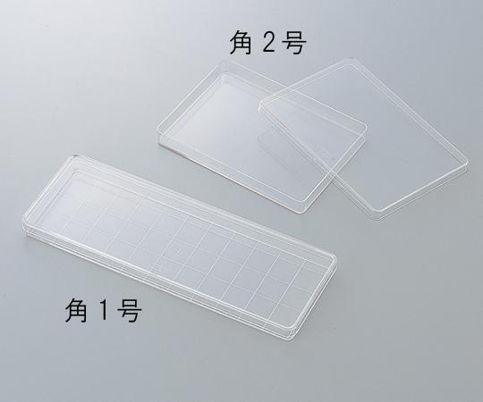 角型透明ディッシュ 角1号235×85mm 10枚/袋×10袋入