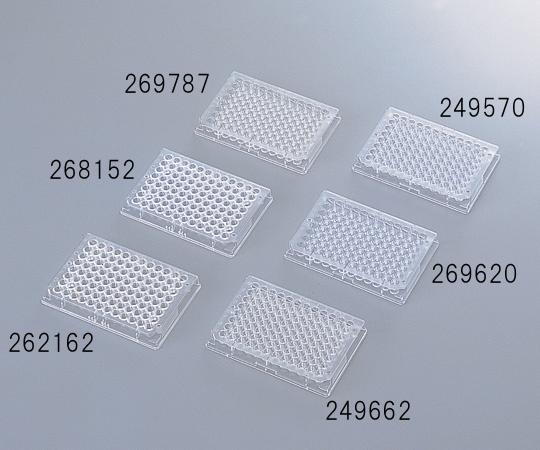 【代金引換不可】マイクロウェルプレート V底(フタなし)・未滅菌 (型番:249570)