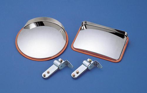 簡易タイプミラー 丸型オールステンレスタイプミラー(径474mm)