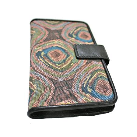 ゴブラン織り 手帳型二つ折りスマートフォンケース 雅(みやび) マルチタイプ-10