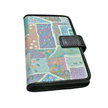 ゴブラン織り 手帳型二つ折りスマートフォンケース 雅(みやび) マルチタイプ-16