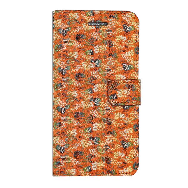純和風 iPhone6用 スマートフォンケース・カバー (手帳型 横開き 二つ折り) 「雅」- 054