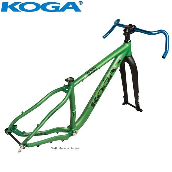 【特別セール品】 KOGA RACER コガ 2018年モデル BEACH RACER KOGA 650B Plus Plus ビーチレーサー650Bプラス ロードバイク フレームセット, ナガワマチ:5f700b2a --- canoncity.azurewebsites.net